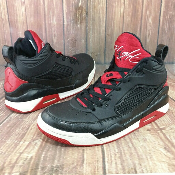 656c652a04a874 Jordan Other - Jordan Air Flight 9.5 Black Gym Red Shoes Sz 8.5
